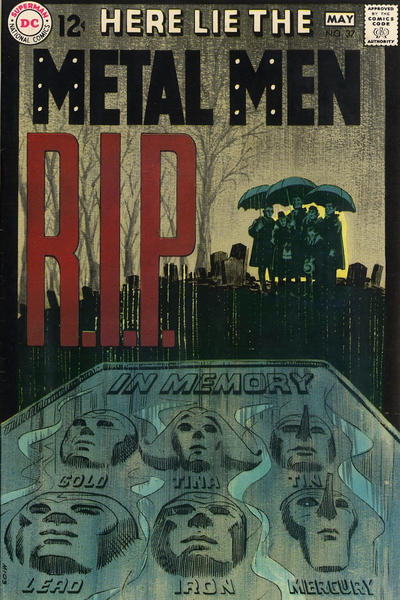 Cover for Metal Men (DC, 1963 series) #37