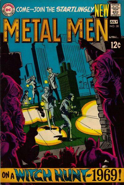 Cover for Metal Men (DC, 1963 series) #38