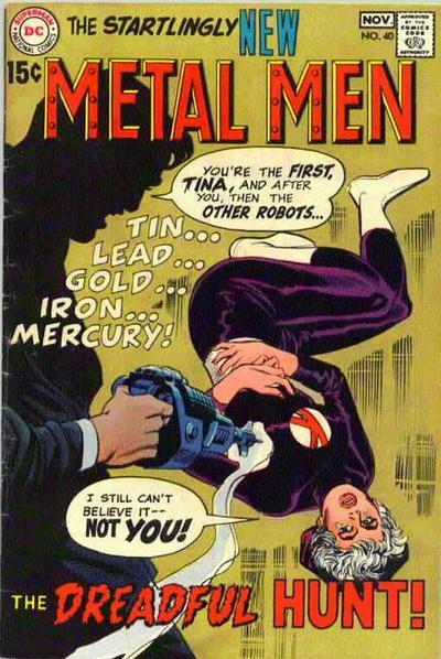 Cover for Metal Men (DC, 1963 series) #40