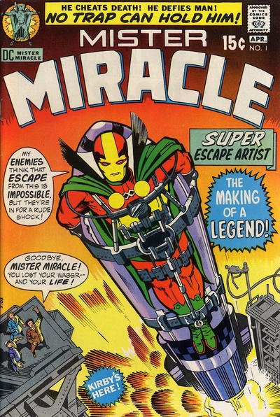 Cover for Mister Miracle (DC, 1971 series) #1