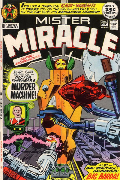 Cover for Mister Miracle (DC, 1971 series) #5