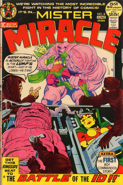 Cover for Mister Miracle (DC, 1971 series) #8