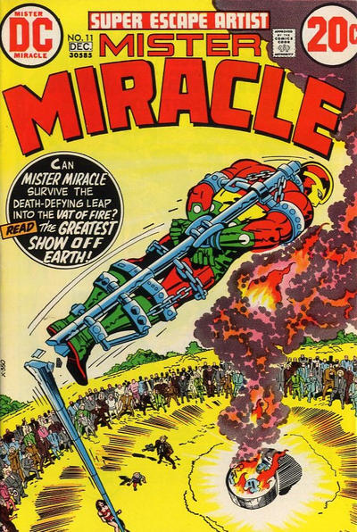 Cover for Mister Miracle (DC, 1971 series) #11