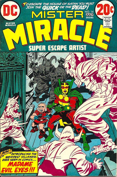 Cover for Mister Miracle (DC, 1971 series) #14