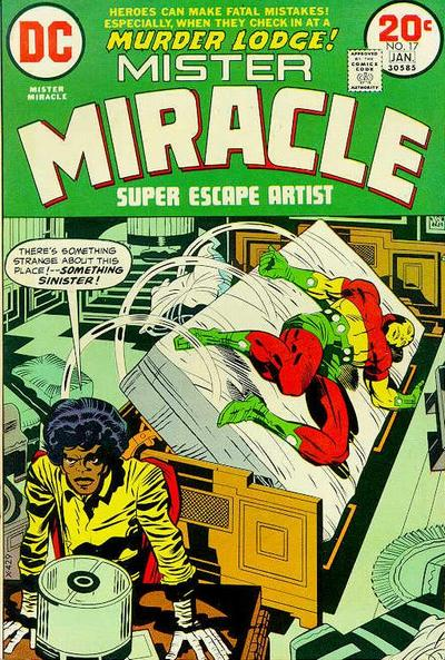 Cover for Mister Miracle (DC, 1971 series) #17