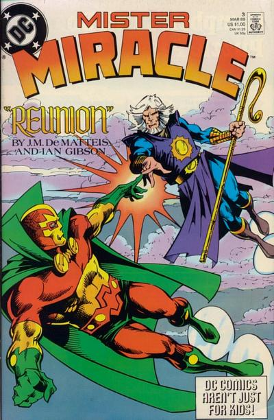 Cover for Mister Miracle (DC, 1989 series) #3 [Direct]