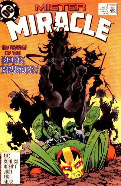 Cover for Mister Miracle (DC, 1989 series) #4 [Direct]