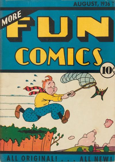 Cover for More Fun Comics (DC, 1936 series) #v1#12