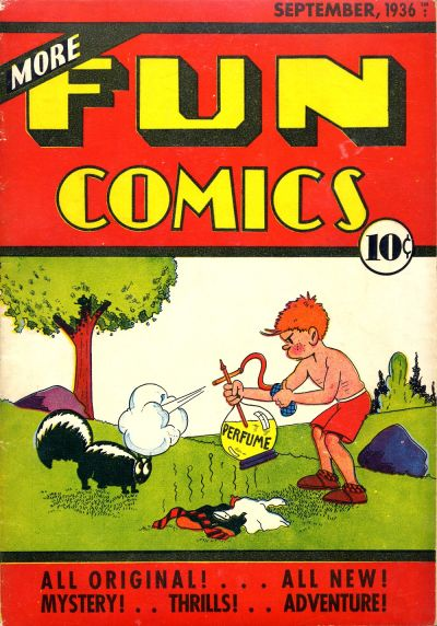 Cover for More Fun Comics (DC, 1936 series) #v2#1 [13]