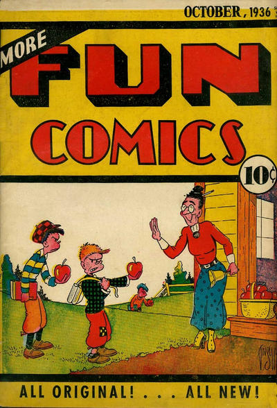Cover for More Fun Comics (DC, 1936 series) #v2#2 [14]