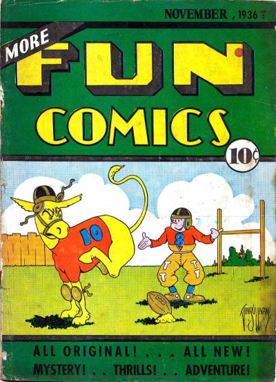 Cover for More Fun Comics (DC, 1936 series) #v2#3 [15]