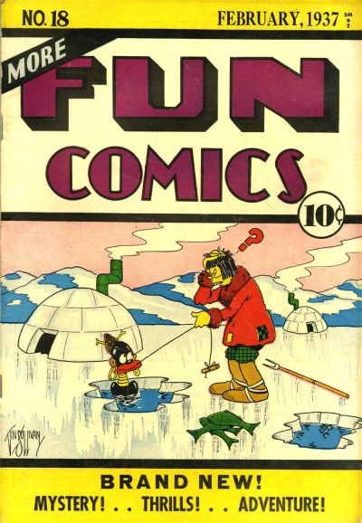 Cover for More Fun Comics (DC, 1936 series) #v2#6 (18)