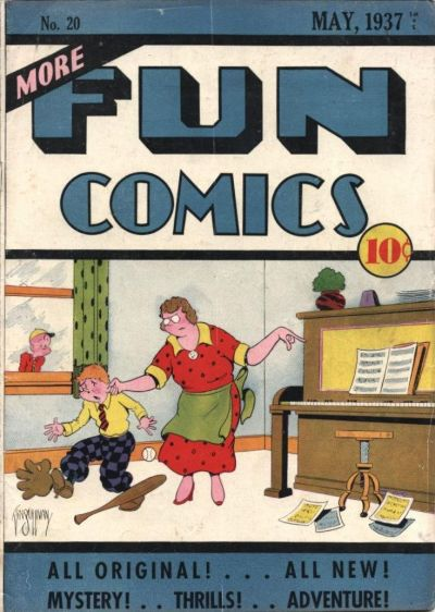 Cover for More Fun Comics (DC, 1936 series) #v2#8 (20)