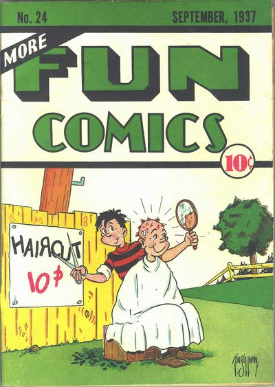 Cover for More Fun Comics (DC, 1936 series) #v2#12 (24)