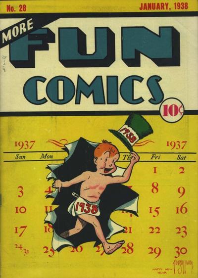 Cover for More Fun Comics (DC, 1936 series) #28