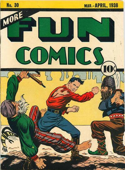 Cover for More Fun Comics (DC, 1936 series) #30