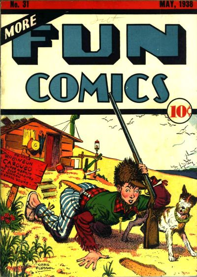 Cover for More Fun Comics (DC, 1936 series) #31