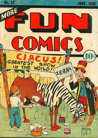 Cover for More Fun Comics (DC, 1936 series) #32