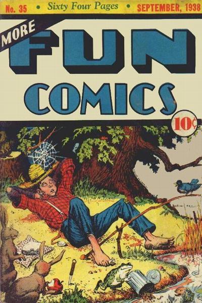 Cover for More Fun Comics (DC, 1936 series) #35