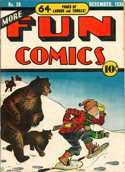 Cover for More Fun Comics (DC, 1936 series) #38