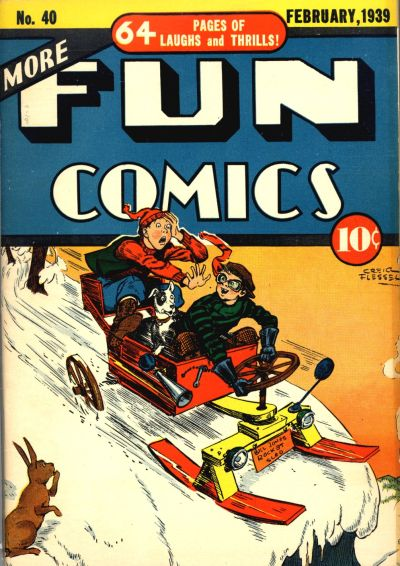Cover for More Fun Comics (DC, 1936 series) #40