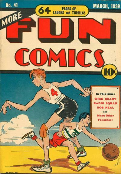 Cover for More Fun Comics (DC, 1936 series) #41