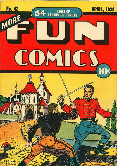 Cover for More Fun Comics (DC, 1936 series) #42