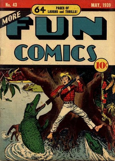 Cover for More Fun Comics (DC, 1936 series) #43