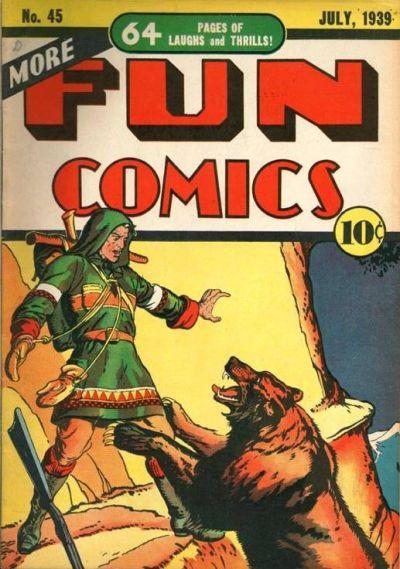 Cover for More Fun Comics (DC, 1936 series) #45