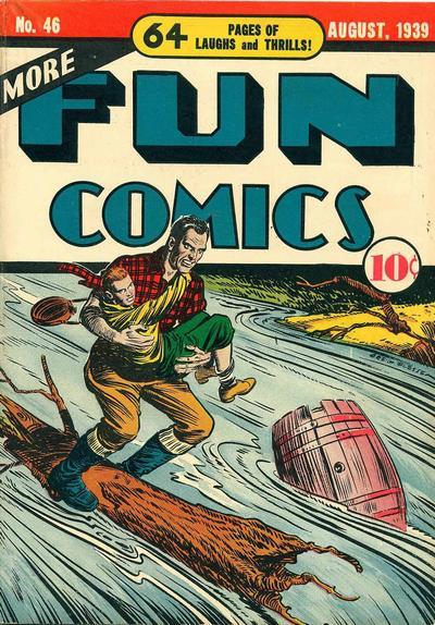 Cover for More Fun Comics (DC, 1936 series) #46