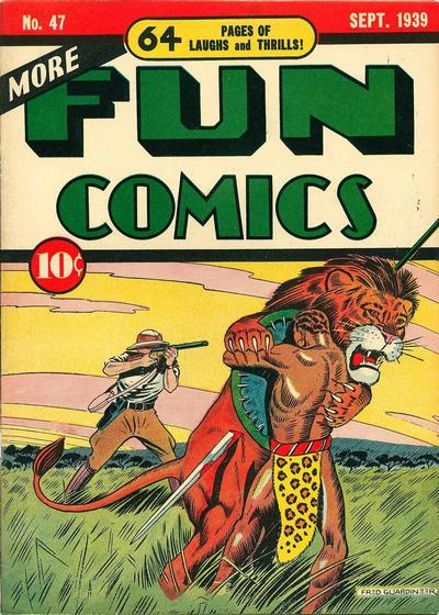 Cover for More Fun Comics (DC, 1936 series) #47