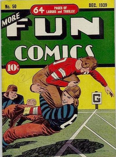 Cover for More Fun Comics (DC, 1936 series) #50