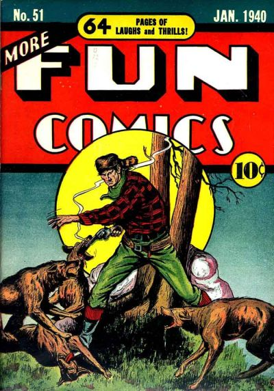 Cover for More Fun Comics (DC, 1936 series) #51