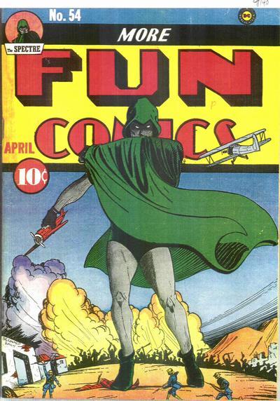 Cover for More Fun Comics (DC, 1936 series) #54
