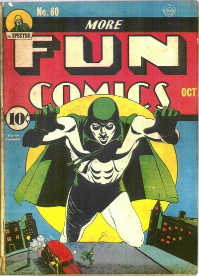 Cover for More Fun Comics (DC, 1936 series) #60
