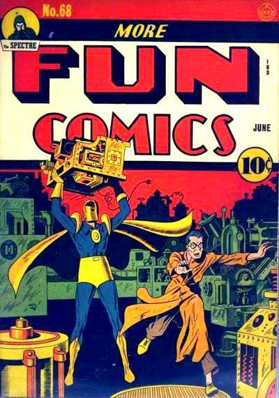 Cover for More Fun Comics (DC, 1936 series) #68
