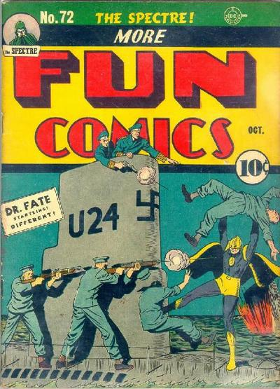 Cover for More Fun Comics (DC, 1936 series) #72