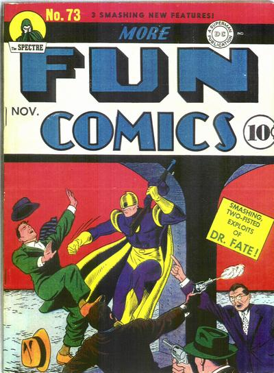 Cover for More Fun Comics (DC, 1936 series) #73
