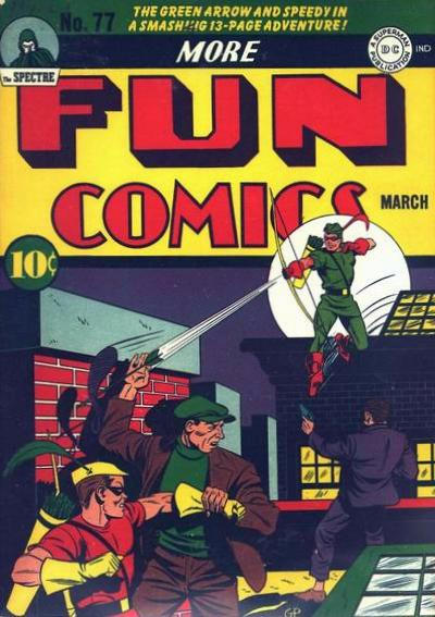 Cover for More Fun Comics (DC, 1936 series) #77