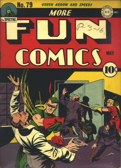 Cover for More Fun Comics (DC, 1936 series) #79
