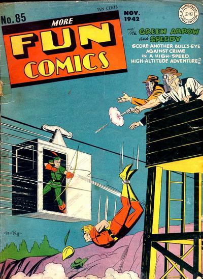 Cover for More Fun Comics (DC, 1936 series) #85