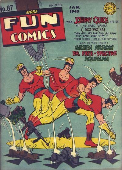 Cover for More Fun Comics (DC, 1936 series) #87