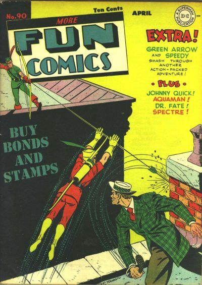 Cover for More Fun Comics (DC, 1936 series) #90