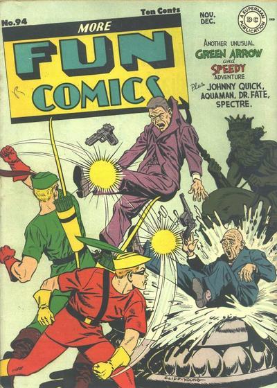 Cover for More Fun Comics (DC, 1936 series) #94