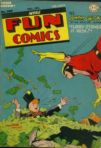 Cover for More Fun Comics (DC, 1936 series) #100