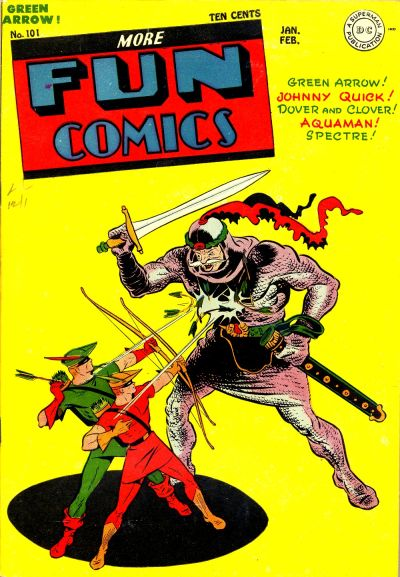 Cover for More Fun Comics (DC, 1936 series) #101