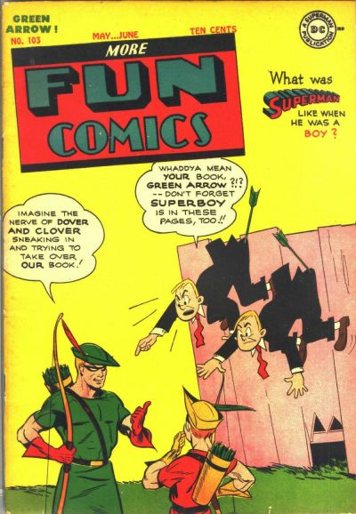 Cover for More Fun Comics (DC, 1936 series) #103