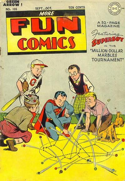 Cover for More Fun Comics (DC, 1936 series) #105