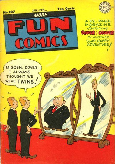 Cover for More Fun Comics (DC, 1936 series) #107