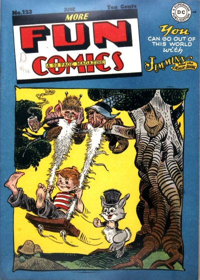 Cover for More Fun Comics (DC, 1936 series) #123